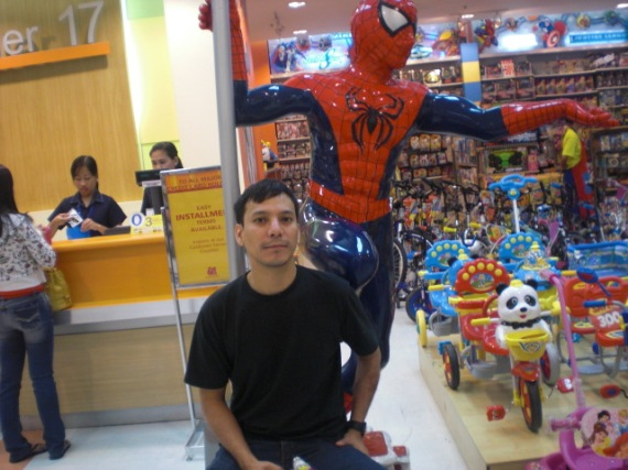 Me with Spidey